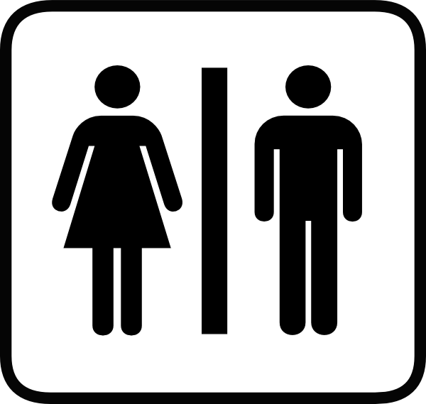 Male Female Bathroom Symbols Fair Bathroom Male Female Symbols  Home Design Review