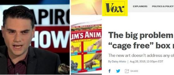 Ben Shapiro Mocks Vox.com's Barnum's Animals Crackers Story as 'Most Ridiculous Story of the Day'