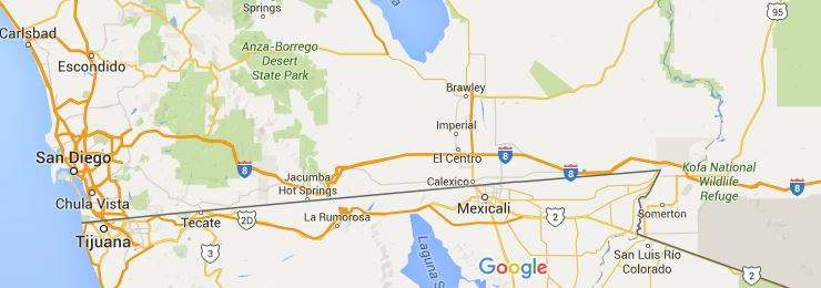 192 California Metro Area on Mexican Border Leads Nation in