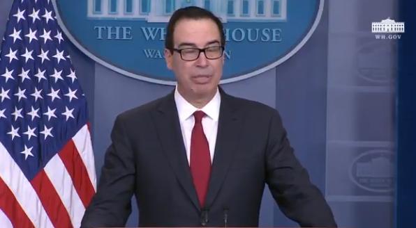 Treasury Secretary: 'I Am Expecting New Sanctions on Iran'