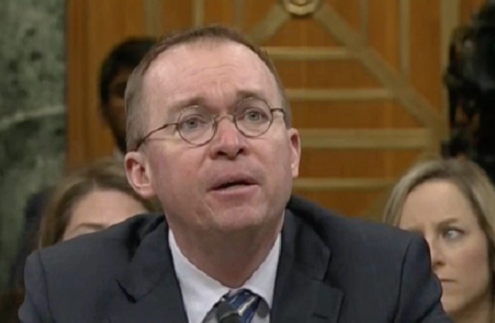 Trump's Budget Director Says He Wouldn't Have Voted for Trump's Budget Deal