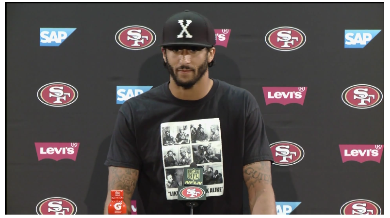 Image result for kaepernick castro shirt