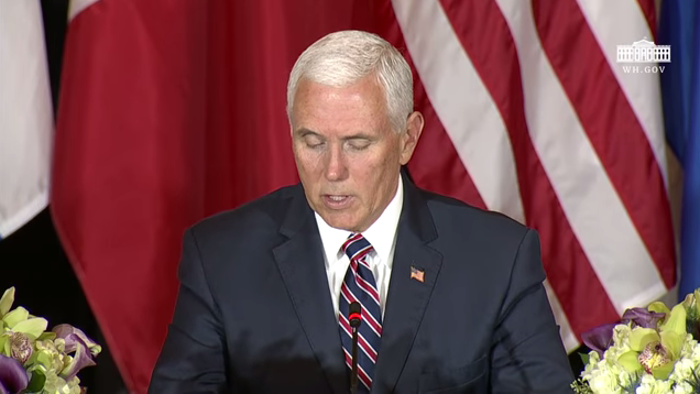 Pence to Central America: Tell Your People If They Can't Come to the U.S. Legally, 'Don't Come at All'