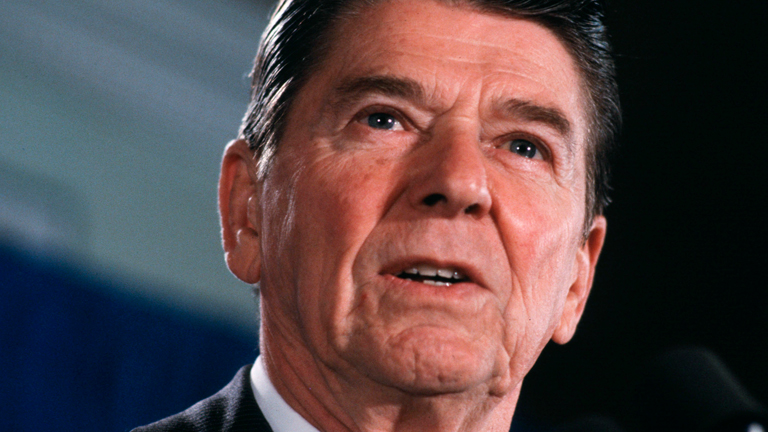 the life and presidency of ronald reagan Nancy reagan died on march 6, 2016 at the age of 94 a previous issue of newsweek portrayed how the former first lady feature coped with president ronald reagan's diagnosis with alzheimer's.