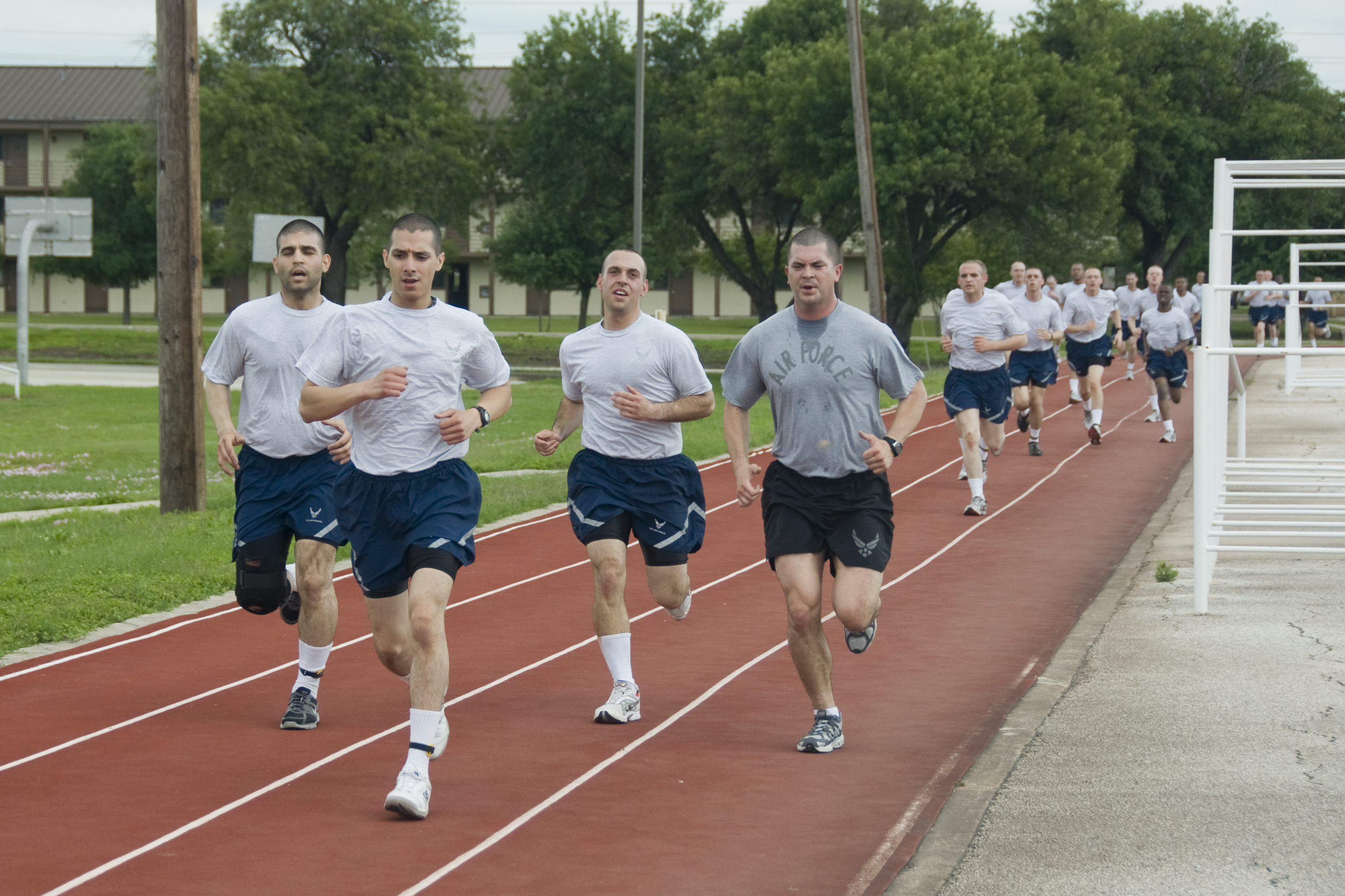 Report: USAF Discovers 19 Running Tracks That Are Too Long