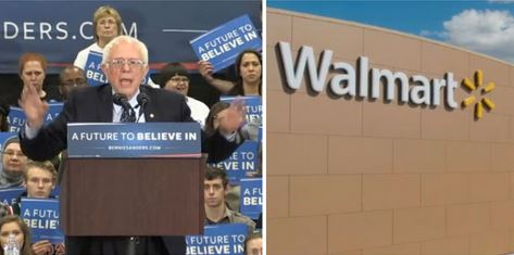 Bernie Sanders' Home State of Vermont Has Six Walmart Retail Stores