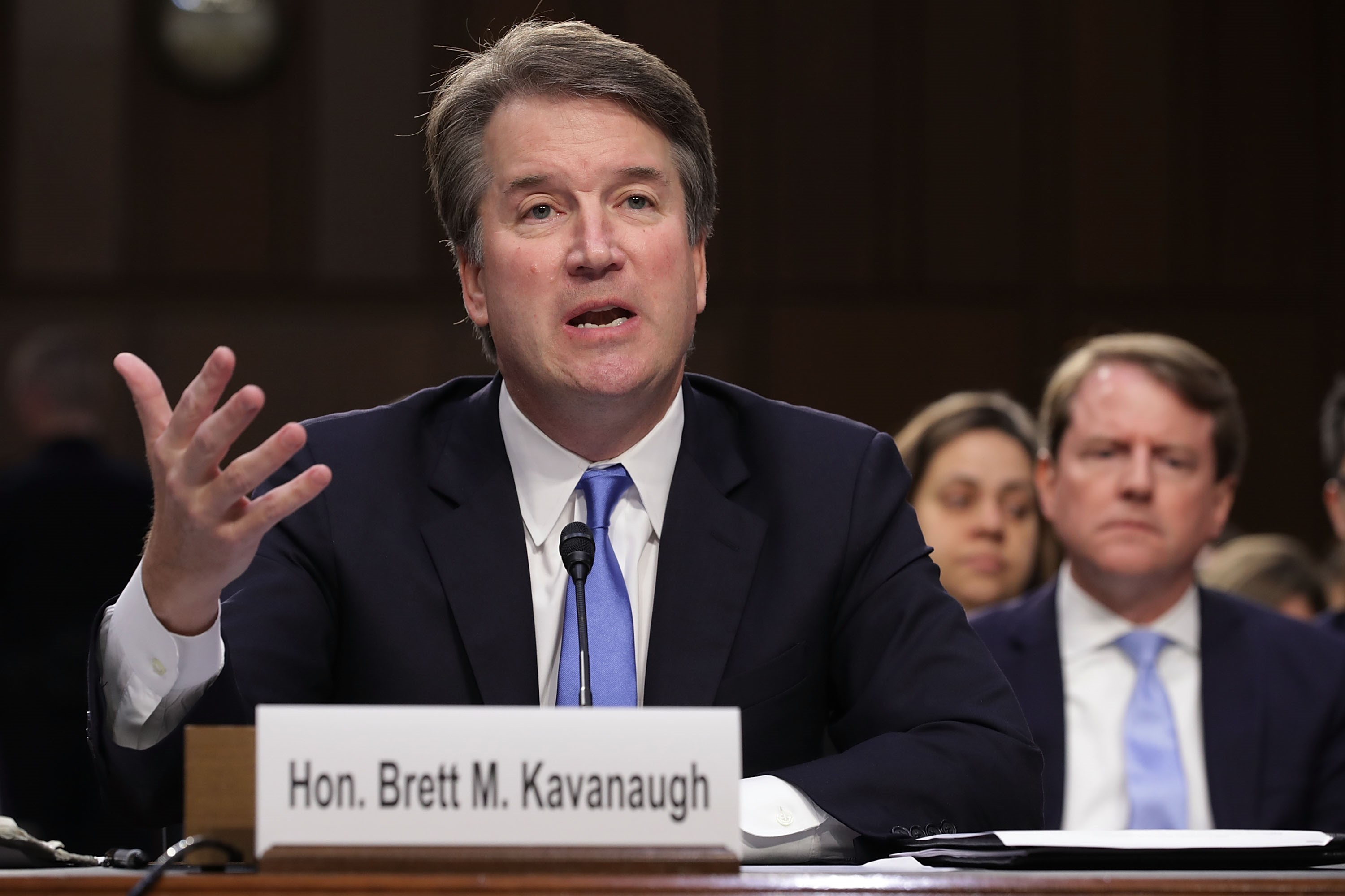 Liberal Activist-Created Website Using Kavanaugh's Name Could Be Illegal