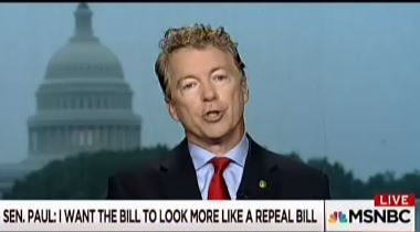 Sen. Rand Paul: 'I Can Summarize the Health Care Cost Problem in One Sentence'