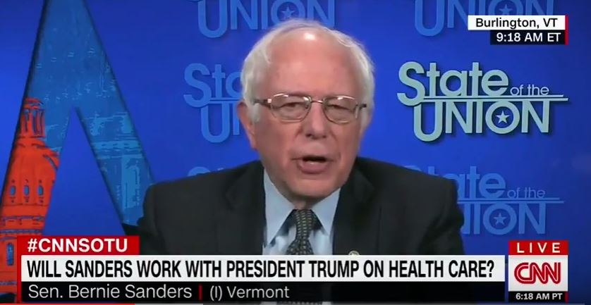 Sanders: 'I'm Going to Introduce a Medicare-for-All, Single-Payer Program'
