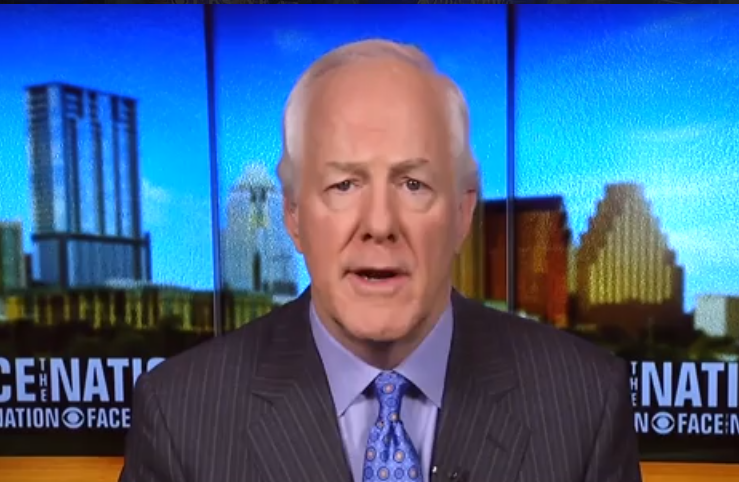 Sen. John Cornyn: Russian Meddling Did Not Change Outcome of 2016 Election: It Would Be Like Spitting into a Raging Ocean
