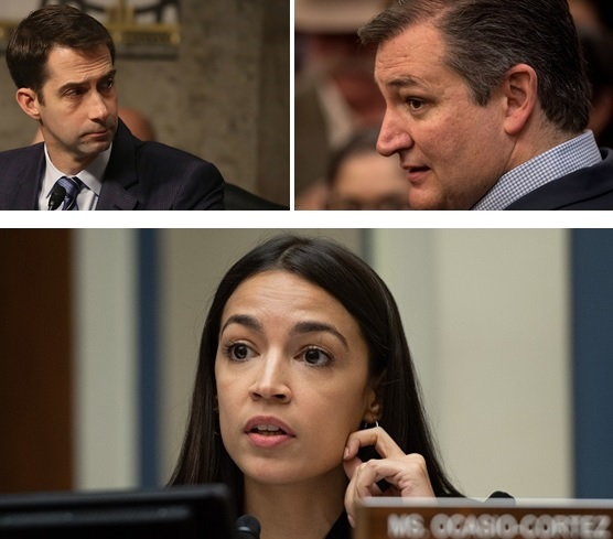 Cruz, Cotton and Ocasio-Cortez? China and the NBA Bring Rivals Together