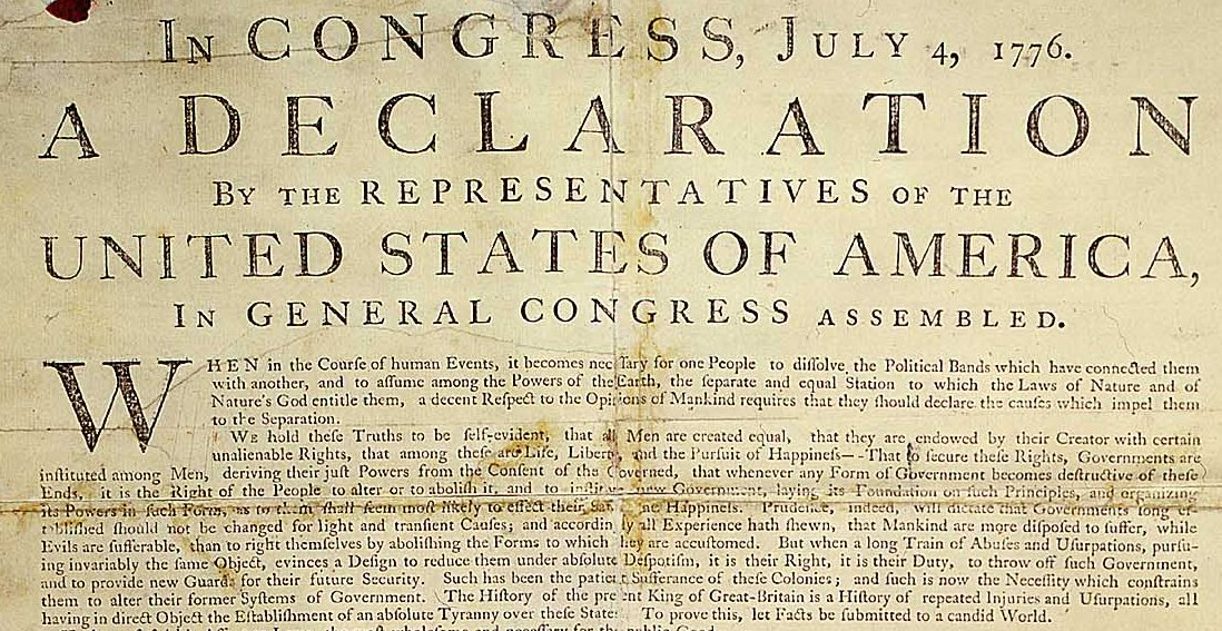 'We Hold These Truths to Be Self Evident?' 51% Say Gov't ...