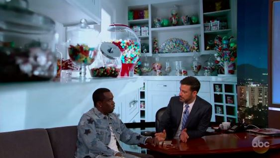 Sean Combs Talks About His Candy Room My Goal Is To Be Happy