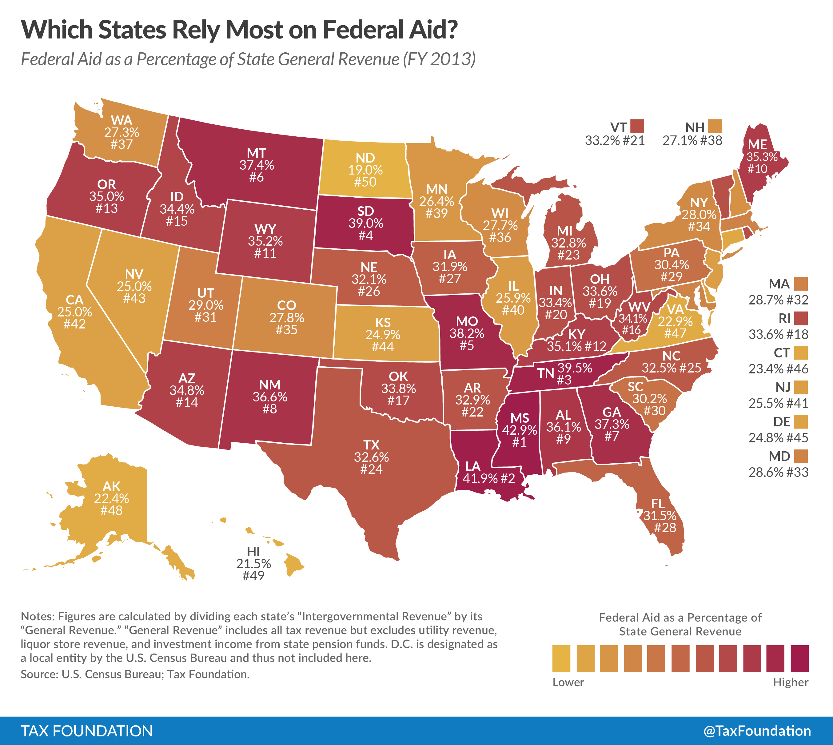 Gdp Per Capita Map 2013 Top 10 States That Rel...