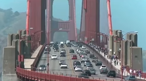Golden Gate Bridge Suicide Attempts Set Record in Trumps First Year But Police Ensure Fewer Succeed