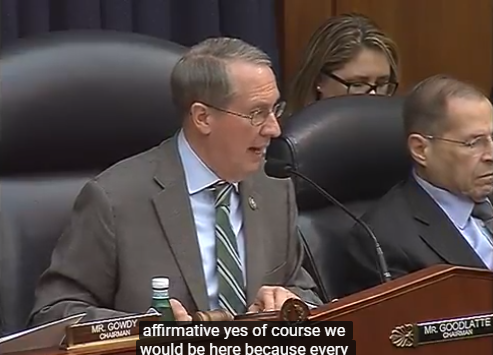 Goodlatte to Dems: 'Replace Trump's Name' with Obama's Name in FBI Agent Strzok's Text Messages