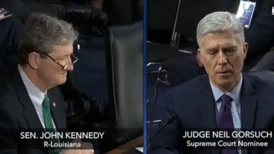 Gorsuch on Opposing Assisted Suicide: I Might Be Right and I Might Be Wrong