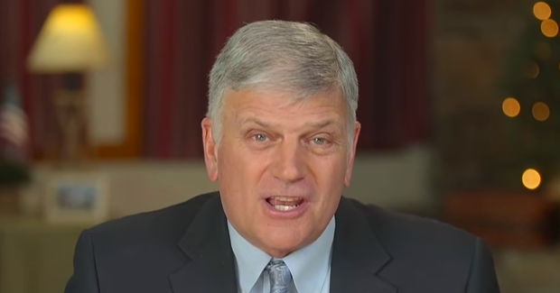Rev. Graham: Trump 'Defends The Christian Faith More Than Any President in My Lifetime'