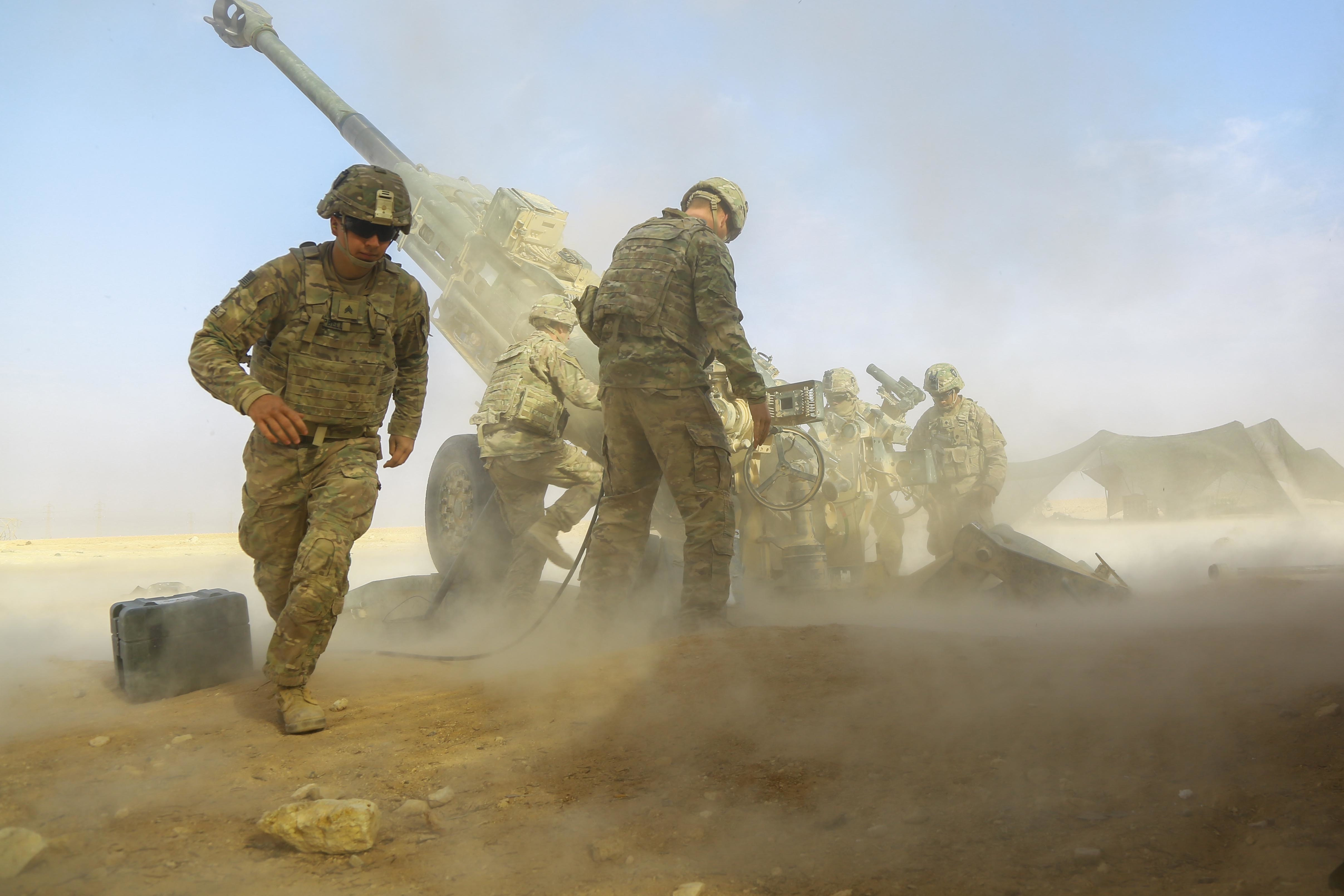 US Troops to Remain in Iraq and Syria Until 'Enduring Defeat' of ISIS