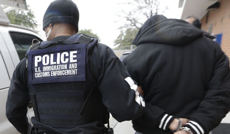 ICE: 3,083 Immigration Detainer Requests Ignored by Local Law Enforcement From Jan. 28 to Feb. 3