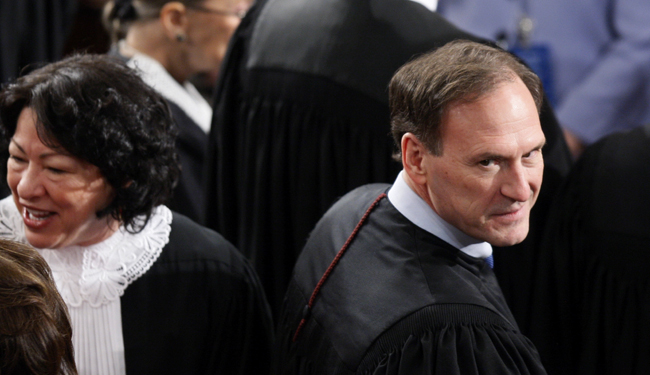 Justice Alito: Why Not Let 4 Lawyers Marry One Another?