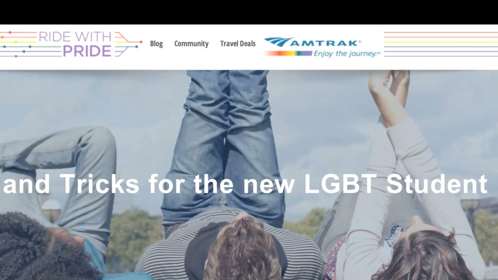 Amtrak homo kytkennät