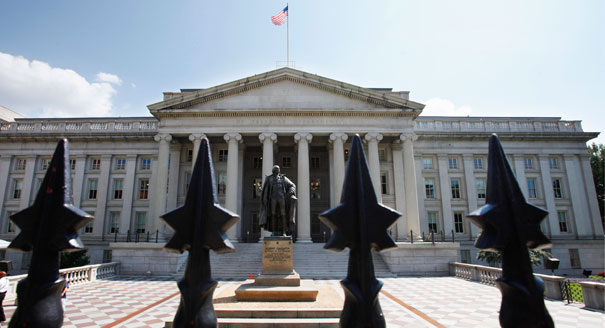 Treasury Ran $98 Billion Deficit in July--But Debt Stayed Exactly $16,699,396,000,000
