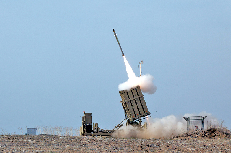 Israel Strikes Back After Accusing Iran of Firing Rockets at