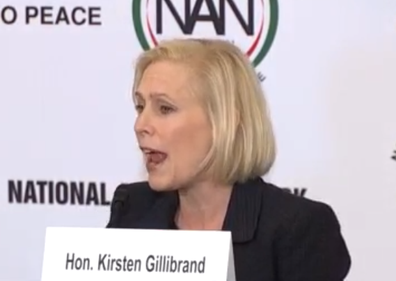 Gillibrand: Trump 'Has Created Division and Hate Throughout Society'