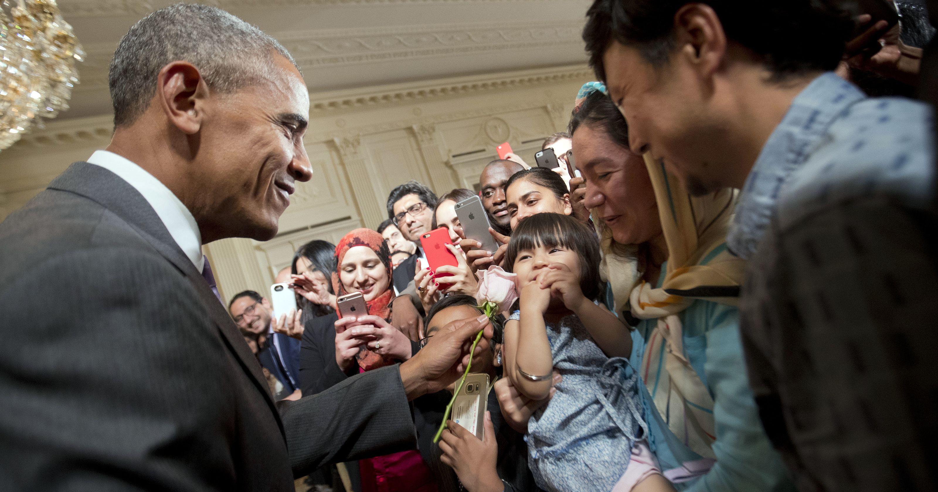 Obama Hosts Eid Al Fitr Reception Hails Lgbt Muslims