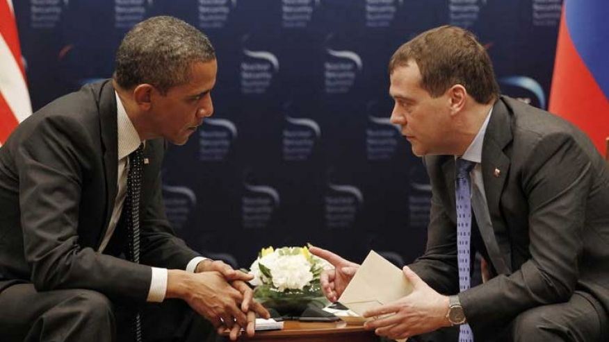 Memories: Obama Called Putin 'to Congratulate Him on His Recent (Election) Victory'