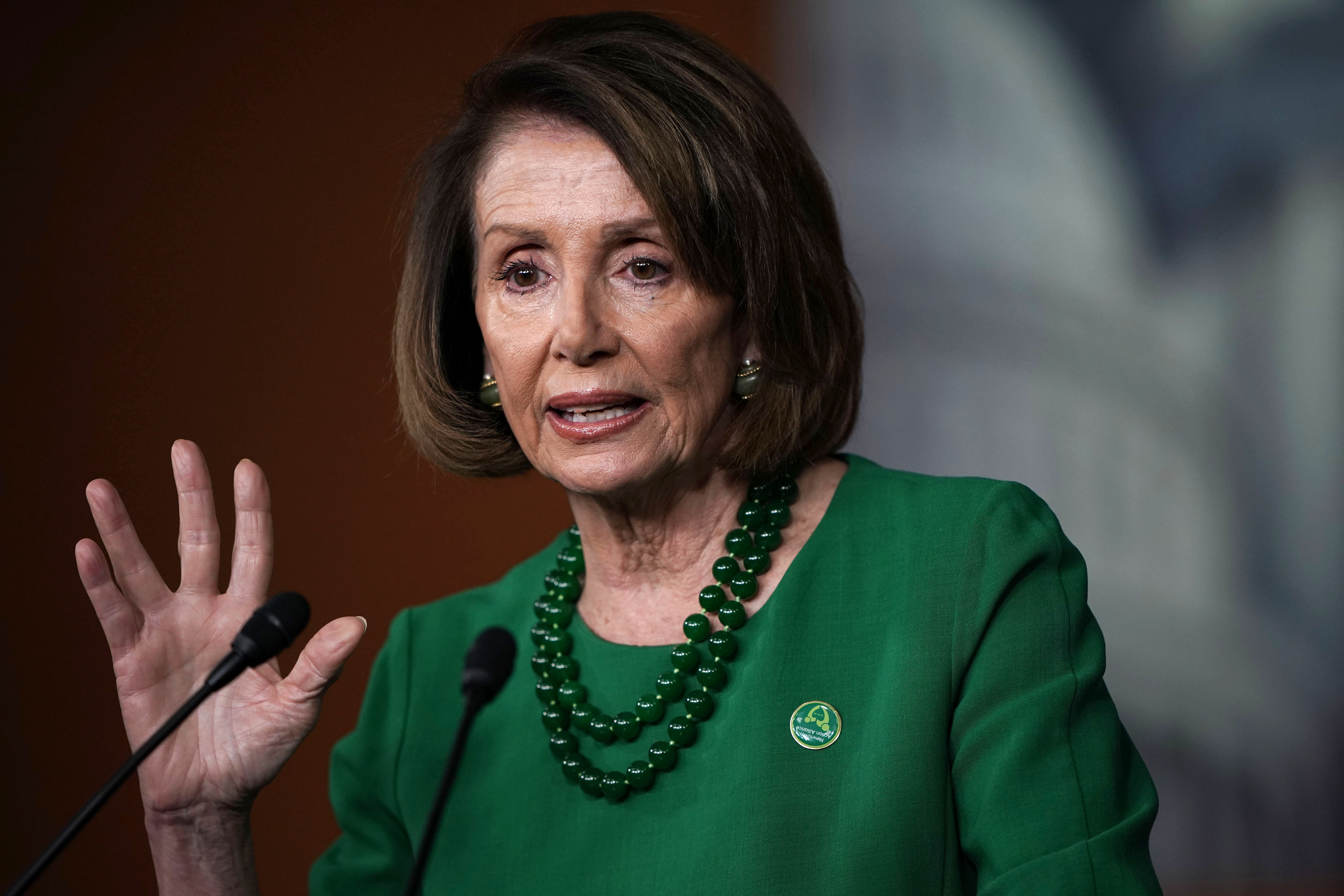 Nancy Pelosi Says U.S. Has 'Three Coasts--North South and West'