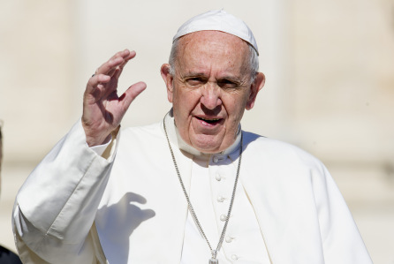 POPE DECLARES NO HELL