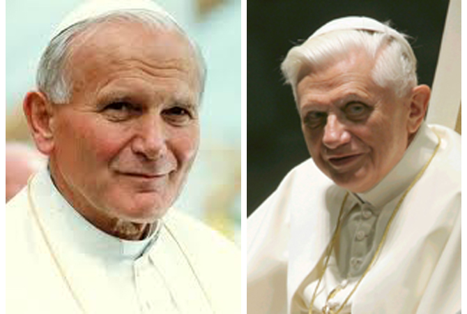 St Pope John Paul Ii Pope Benedict On Gay Marriage Clear And
