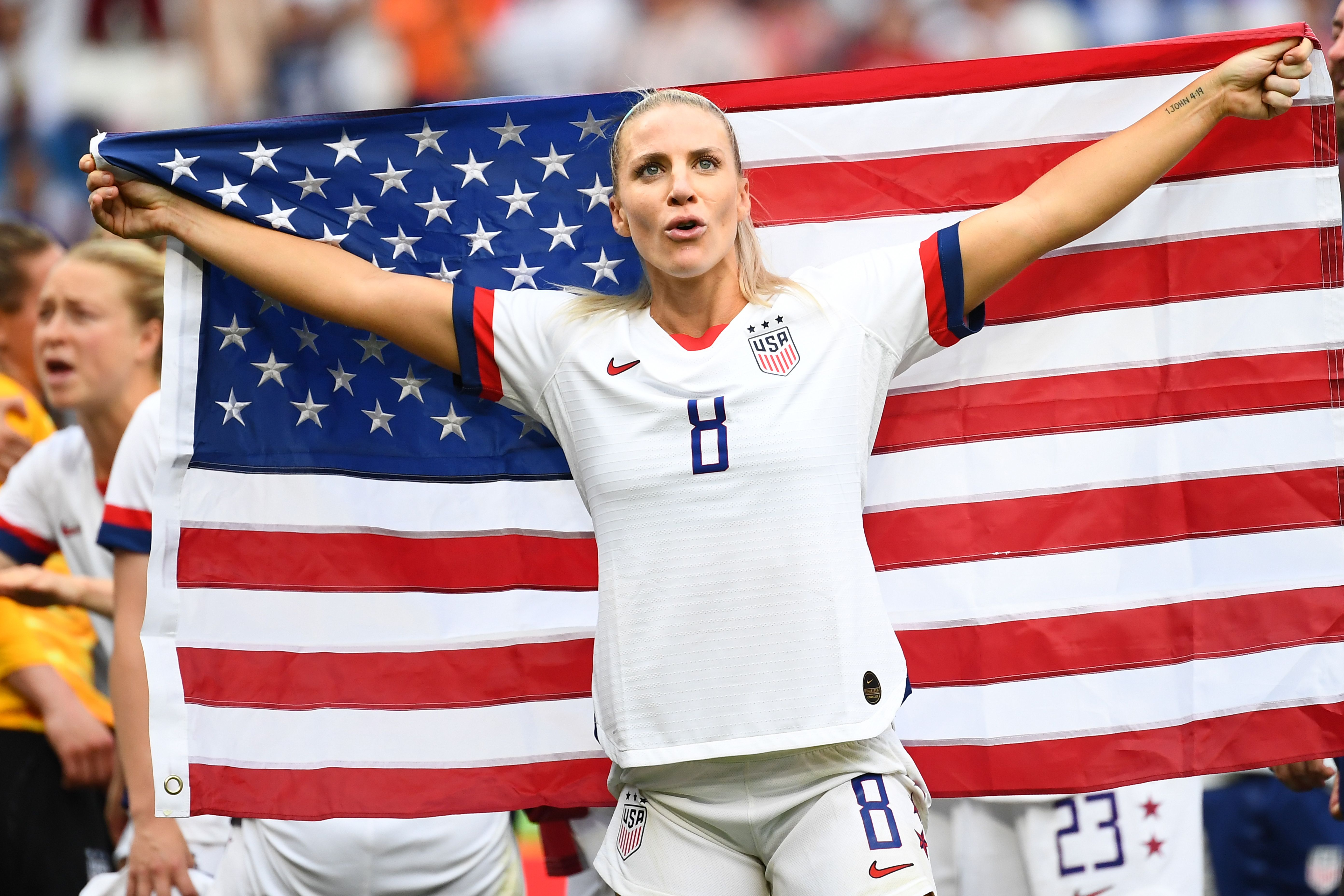 3b00c81ae U.S. Women's Soccer Team Demands 'Equal Pay' With Men's Team