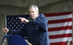 Pictured is New York City Mayor Bill De Blasio. (Photo credit: John Lamparski/Getty Images)