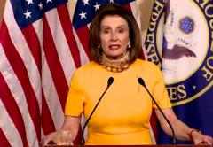 House Speaker Nancy Pelosi (D-Calif.) speaks to reporters on May 20, 2020. (Photo: Screen capture)