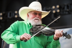 Charlie Daniels' decorated career as a singer, song writer, guitarist, and fiddler has spanned several decades. (Photo credit: Erika Goldring/WireImage)