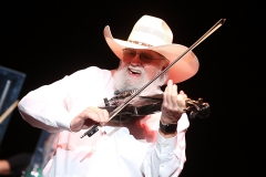 Charlie Daniels' decorated career as a singer, song writer, guitarist, and fiddler has spanned several decades. (Photo credit: Gary Miller/Getty Images)