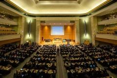 The WHO's World Health Assembly meets in Geneva each May. This year's event will be a virtual one. (Photo: WHO / L. Cipriani)