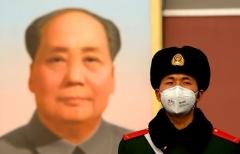Beijing's Tiananmen Gate in late January. (Photo by Noel Celis/AFP via Getty Images)