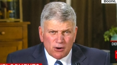 Rev. Franklin Graham.  (Screenshot)