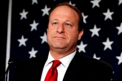 Colorado Gov. Jared Polis is a former U.S. congressman and a former chair of the Colorado Board of Education. (Photo by JASON CONNOLLY/AFP via Getty Images)