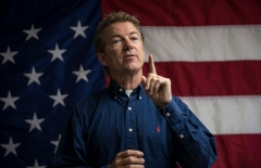 Sen. Rand Paul (R-Ky.) is a former contender for the Republican presidential nomination. (Photo by Rick Friedman/Corbis via Getty Images)