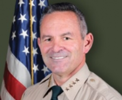 Riverside County, Calif., Sheriff Chad Bianco.  (RCSD)