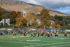 Youth football, such as this game in Manchester, Vermont, has been a rite of fall until now. (Photo by Tim Graham/Getty Images)