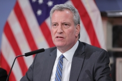 New York City Mayor Bill de Blasio experienced a bit of a legal embarrassment. (Photo credit: EuropaNewswire/Gado/Getty Images)