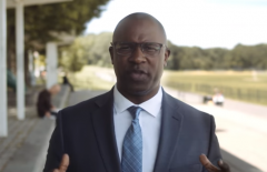 "Leftist candidate Jamaal Bowman says he ""can't wait to get to DC and cause problems for those maintaining the status quo."" (Photo: Screen capture/Bowman for Congress campaign website)"