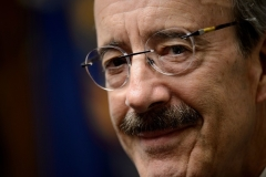 New York Democrat Rep. Eliot Engel has been in Congress for 31 years. (Photo by Zach Gibson/AFP/Getty Images)