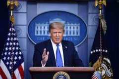 President Donald Trump (Photo by BRENDAN SMIALOWSKI/AFP via Getty Images)